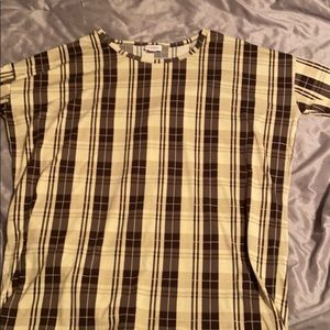 Lularoe irma tunic top size medium